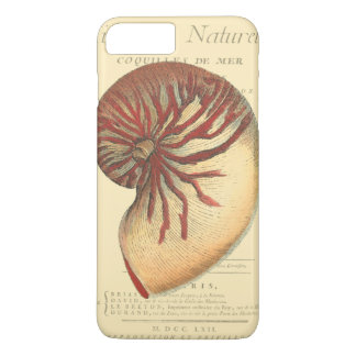 Vintage Red Conch Shell iPhone 7 Plus Case