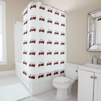 Vintage_Red_Fire_Truck_Bathroom_Shower_Curtain