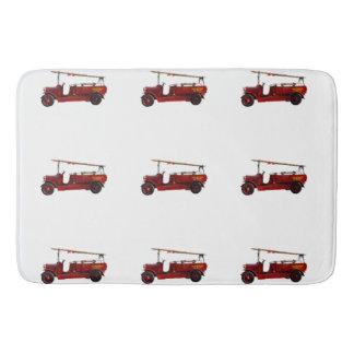 Vintage_Red_Fire_Truck_Large_Memory_Foam_Bath_Mat Bathroom Mat