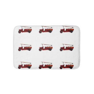 Vintage_Red_Fire_Truck_Memory_Foam_Bath_Mat Bath Mat