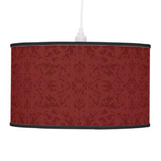 Vintage Red Fleur Design Pendant Lamp