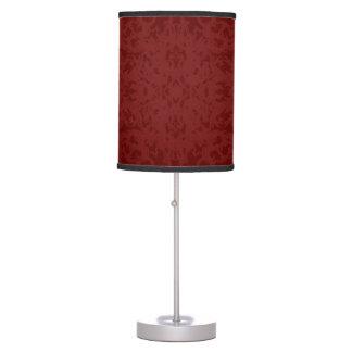 Vintage Red Fleur Design Table Lamp