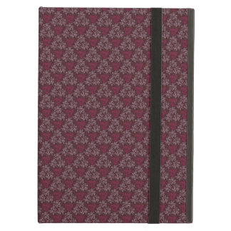 Vintage Red Floral Pattern iPad Air Covers