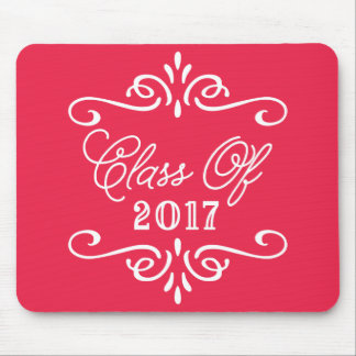 Vintage Red | Graduation Mouse Pad