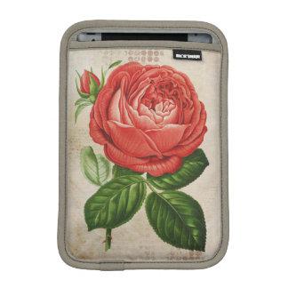 Vintage Red Hybrid Perpetual, Paul Neyron Rose iPad Mini Sleeve