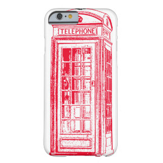 Vintage Red Phone Booth Iphone 6 Case