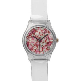 vintage red roses,victorian,floral,romantic,girly, wrist watch