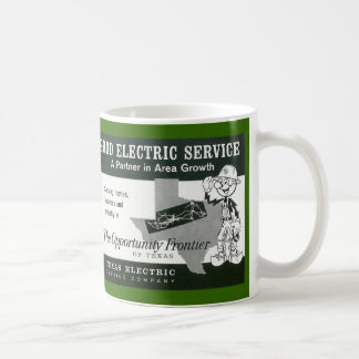 Vintage Reddy Kilowatt Advertising Mug