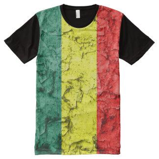 Vintage reggae flag