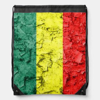 Vintage reggae flag backpacks