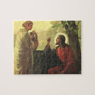 Vintage Religion, Christ and the Good Samaritan Jigsaw Puzzle
