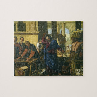 Vintage Religion, Cleansing of the Temple Jigsaw Puzzle