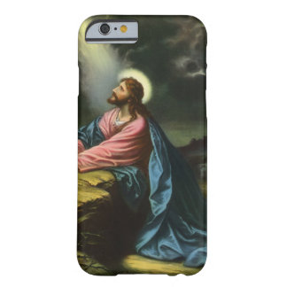Vintage Religion, Gethsemane, Jesus Christ Praying Barely There iPhone 6 Case