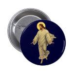 Vintage Religion, Jesus Christ Portrait Button