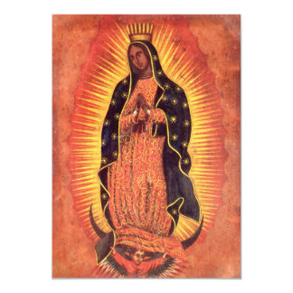 Vintage Religion, Lady of Guadalupe Invitation