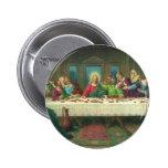 Vintage Religion, Last Supper with Jesus Christ 2 Inch Round Button