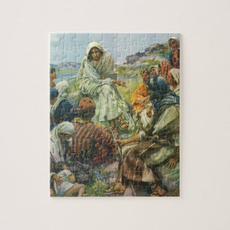 Vintage Religion, Sermon on the Mount, Copping Jigsaw Puzzle