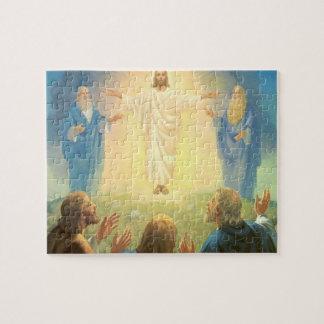 Vintage Religion, Transfiguration of Jesus Christ Jigsaw Puzzle