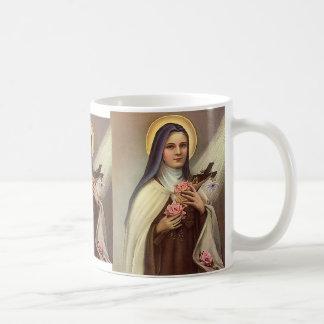 Vintage Religious Easter, Nun with Cross Coffee Mug