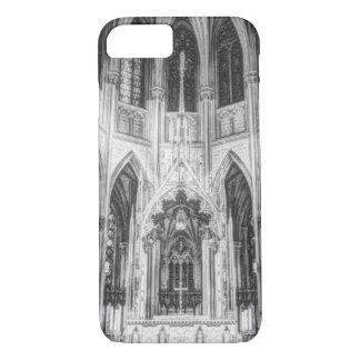 Vintage religious Gothic catholic church cathedral iPhone 8/7 Case