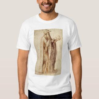 Vintage Renaissance, Philosopher by Michelangelo T Shirt