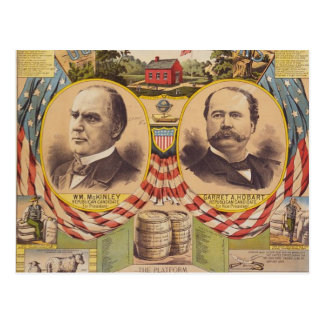 Vintage Republican Party Presidential Campaign Postcard