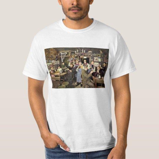 Vintage Restaurant Bar People Celebrating Party T-Shirt