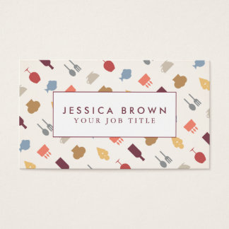 Vintage restaurant Business Card Template!