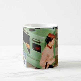 Vintage Retail Business, Appliance Showroom Store Classic White Coffee Mug