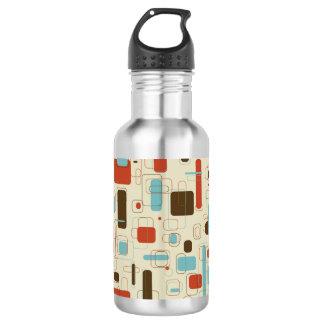 Vintage Retro Art Deco Pattern 532 Ml Water Bottle