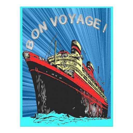 Vintage / Retro Art Deco Travel Design Product Letterhead