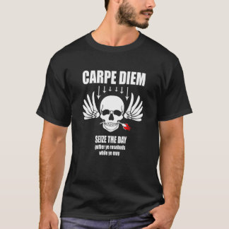 Vintage Retro Carpe Diem. Seize the day T-Shirt