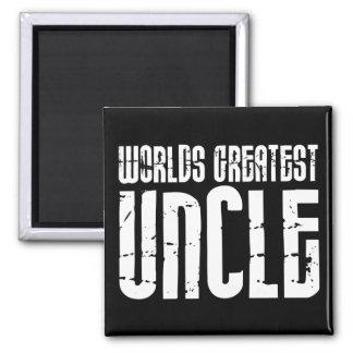 Vintage Retro Cool Uncles : World's Greatest Uncle Magnet