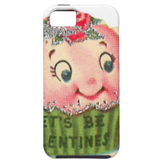 Vintage Retro Cupcake And Teacup Valentine's Day iPhone 5 Cover