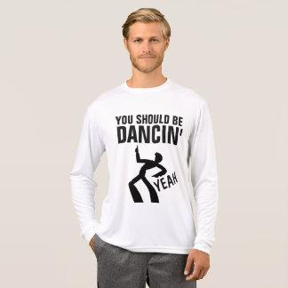 Vintage Retro Disco T-shirts, SHOULD BE DANCIN' T-Shirt