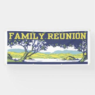 Vintage Retro Family Tree Banner