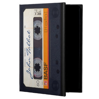 Vintage Retro Fashioned 80s Mixtape Audio Tape IP Cover For iPad Air