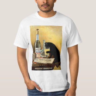 """Vintage Retro French Poster """"Absinthe Bourgeois"""" T-Shirt"""
