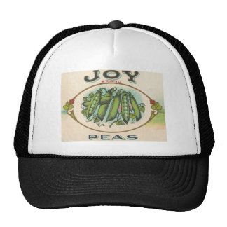 Vintage, Retro Fruit and Vegetable Crate Label Tee Hat