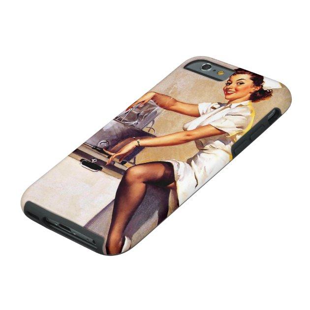 Vintage Retro Gil Elvgren Nurse Pin Up Girl Tough iPhone 6 ...