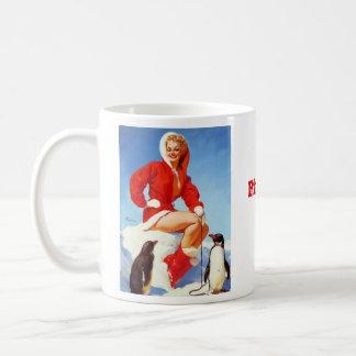 Vintage Retro Gil Elvgren Pin Up Girl Basic White Mug