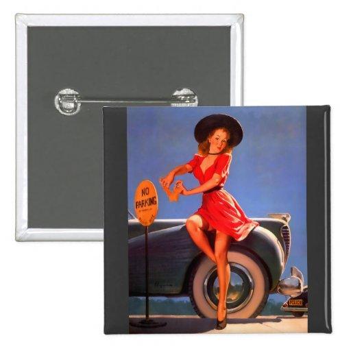Vintage Retro Gil Elvgren Pin Up Girl