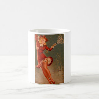 Vintage Retro Gil Elvgren Pin Up Girl Classic White Coffee Mug
