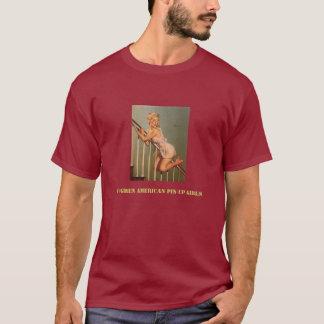 Vintage Retro Gil Elvgren Pin Up Girl T-Shirt