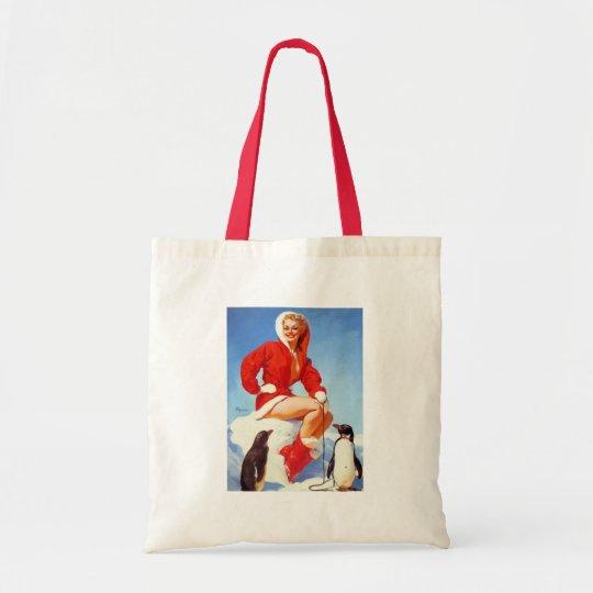 Vintage Retro Gil Elvgren Pin Up Girl Tote Bag