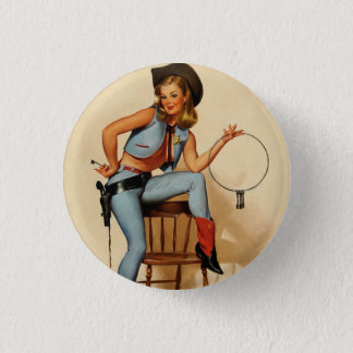 Vintage Retro Gil Elvgren Sheriff Pin Up Girl