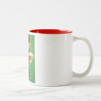Vintage Retro Gil Elvgren Tea Time Pinup Girl Coffee Mugs