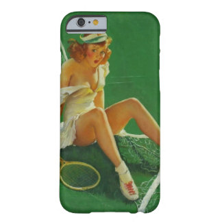 Vintage Retro Gil Elvgren Tennis Pinup Girl Barely There iPhone 6 Case