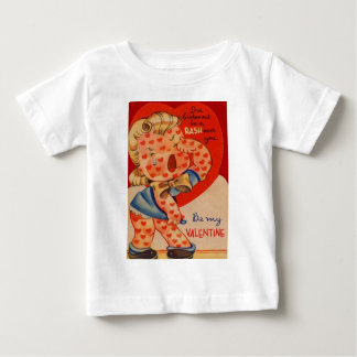 Vintage Retro Heart Rash Valentine Card Shirts