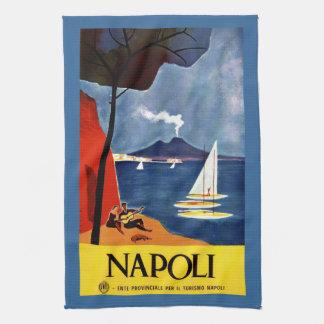 Vintage retro Italian poster Kitchen Towel